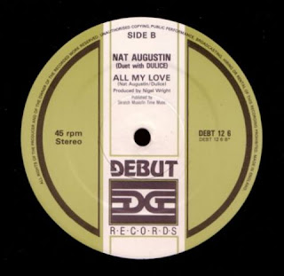 Nat Augustin (Duet With Dulice) - All My Love (12'' Version) (1985)