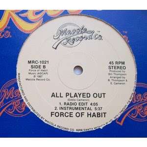 Force Of Habit - All Played Out (1987)