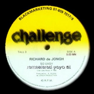 Richard De Jongh - So Easy (1983) (Remastered By yooy 91 2010)