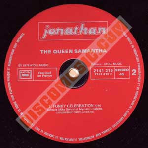 The Queen Samantha - Funky Celebration (12'' Version) (1979)