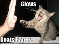 Scissor, Paper, Claws!