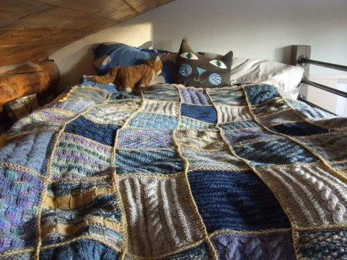 Knitted Patchwork Blanket Pattern : Daisy Jane: Next project?