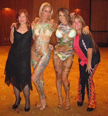 Girls body art