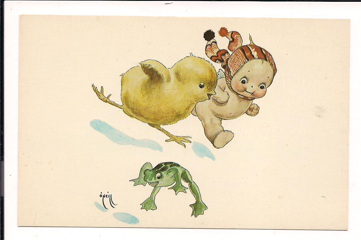 Новорожденный цыпленок открытка 7