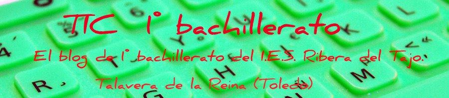 TIC 1º BACHILLERATO
