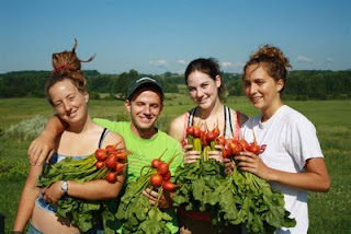 middlebury college organic garden volunteers