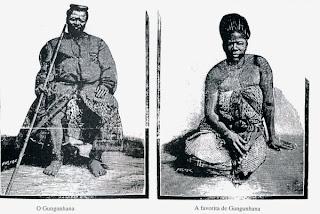 Africana de una tribu follada por dos hombres - Peta