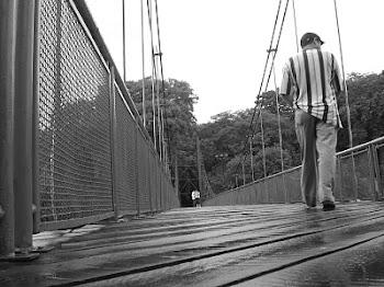 Pela ponte da vida, atravesso os espaços do tempo!