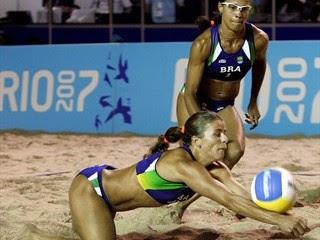 Brazilian beach volleyball