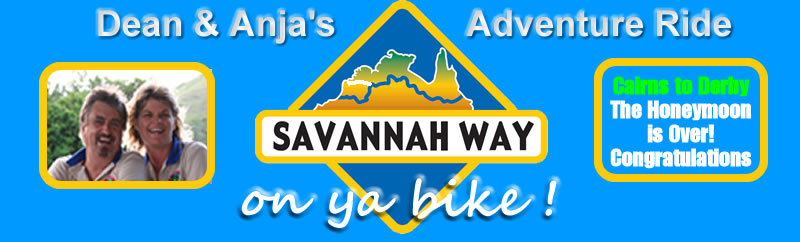Dean & Anja's Savannah Way Ride