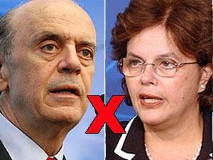Serra mantém dianteira sobre Dilma, aponta Datafolha.