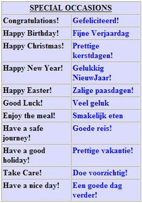 Basic Dutch Phrases with Pronunciation - ielanguages.com