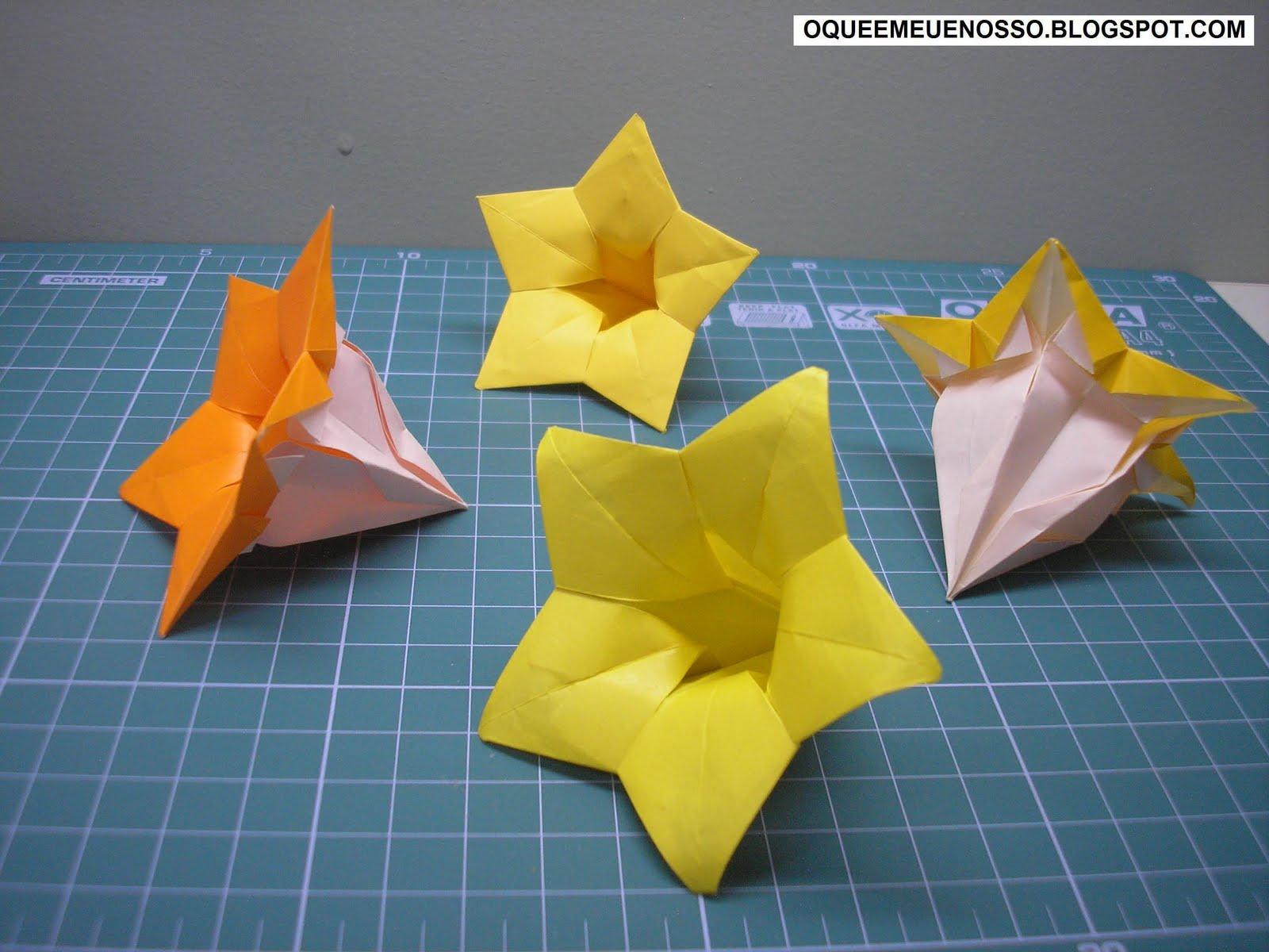 Baloon Flower Hiromi Hayashi Paper Craft Pinterest Origami