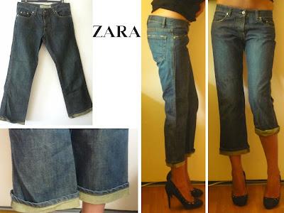 vide dressing jean boyfriend ZARA