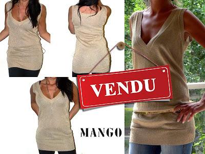 vide dressing Mango