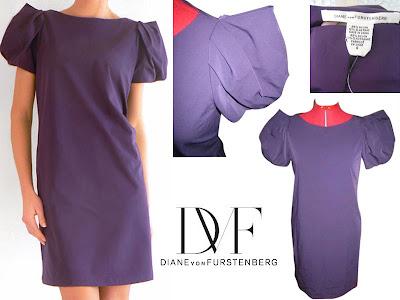 robe diane von furstenberg vide dressing