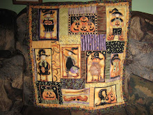 Halloween wall quilt