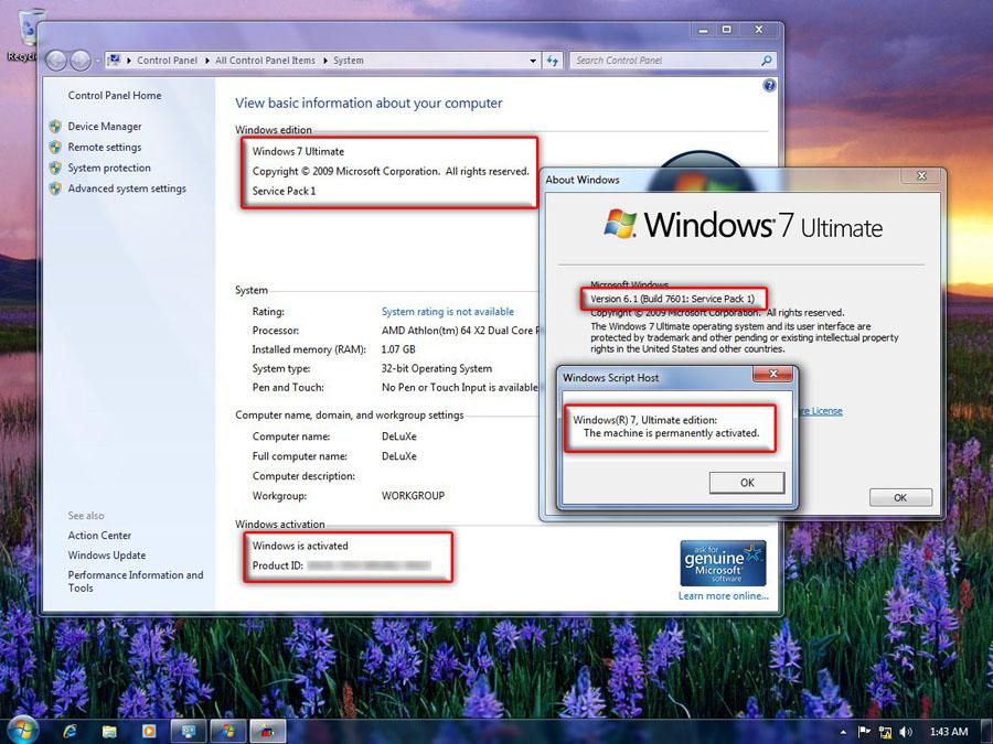 7dvd windows sp1 32bit 2 0
