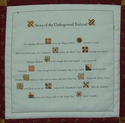 Treadle Quilts: Underground Railroad Miniature Quilt