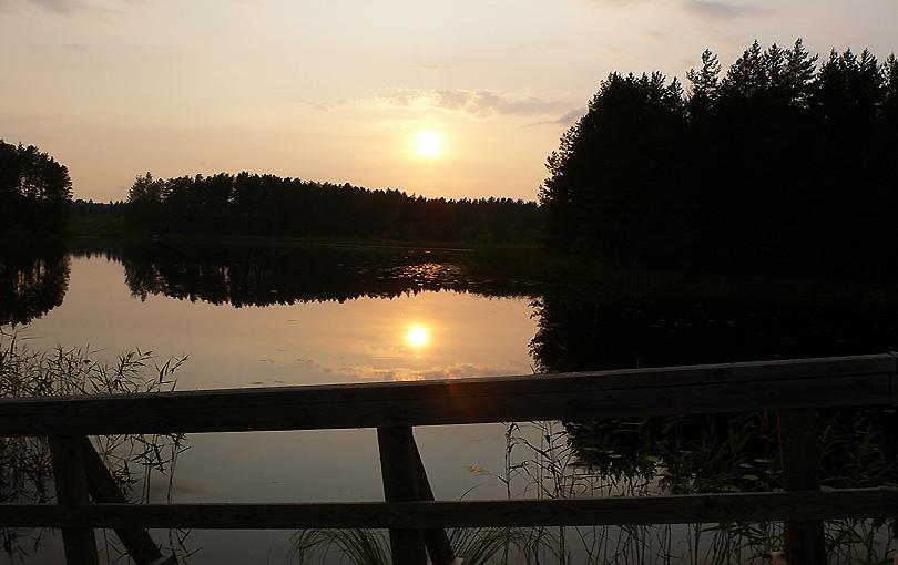 sunset region thousand lakes posta puesta sol atardecer capvespre regio region mil llacs lagos finlandia finland suomi