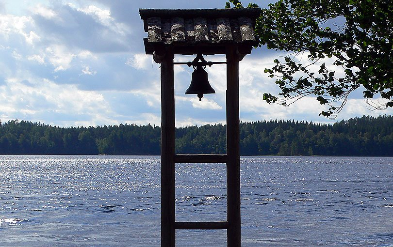 llac saima lago lake carelia suomi finlandia finland campana bell finn