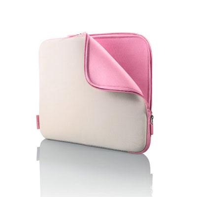 Housse néoprène pour ordinateur portable rose chez 3suisses.fr