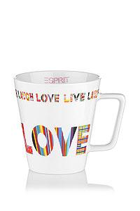Tasse à café colorée Esprit