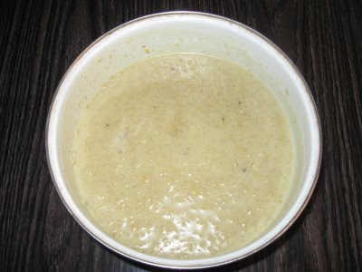 Sweet Payasam with jaggery and coconut milk