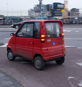 Tiny Red Car