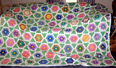 Grandmas Flower Garden Quilt Home and Garden - Shopping.com
