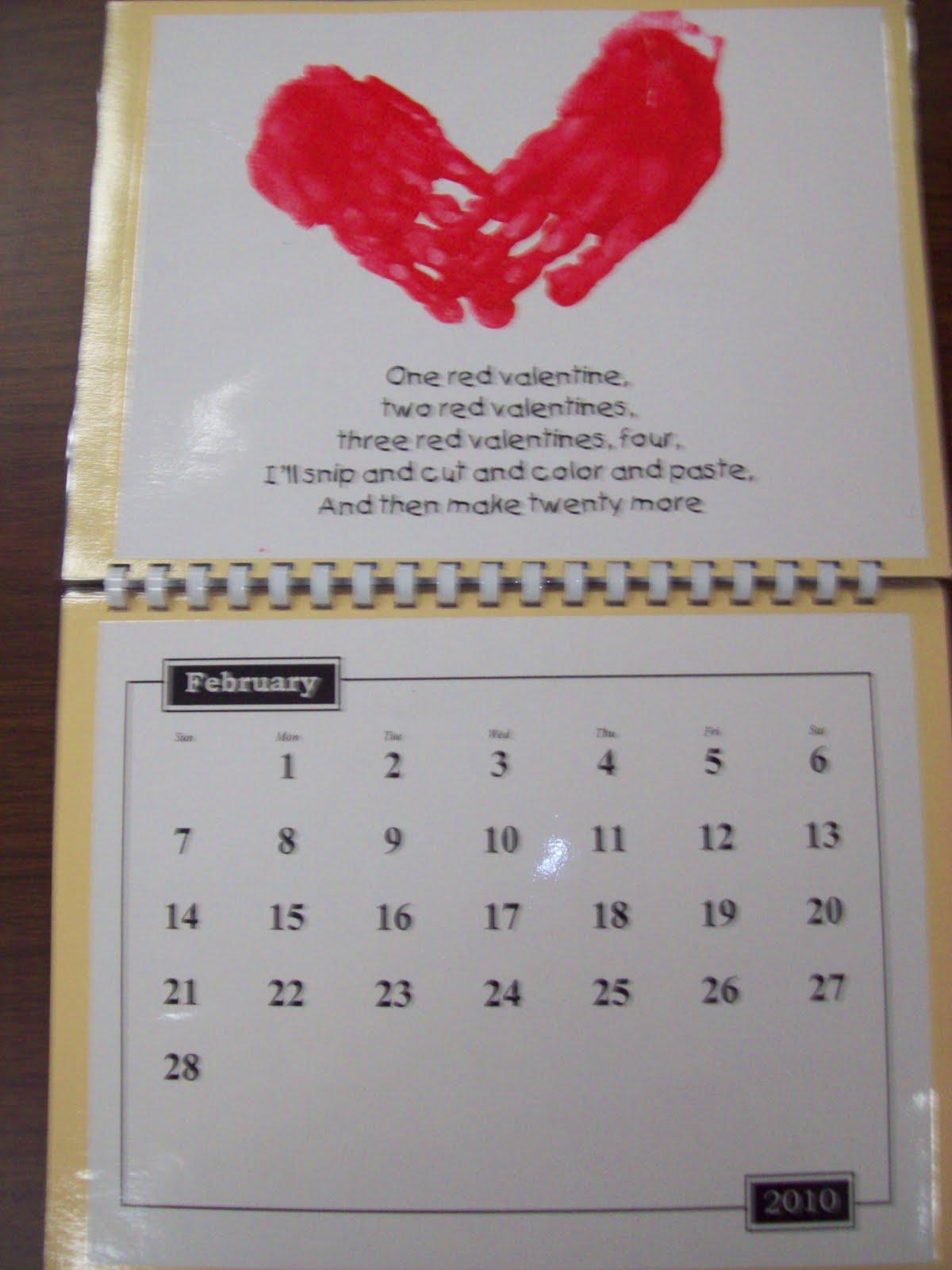 Kindergarten Calendar S S : Chalk talk a kindergarten handprint calendar