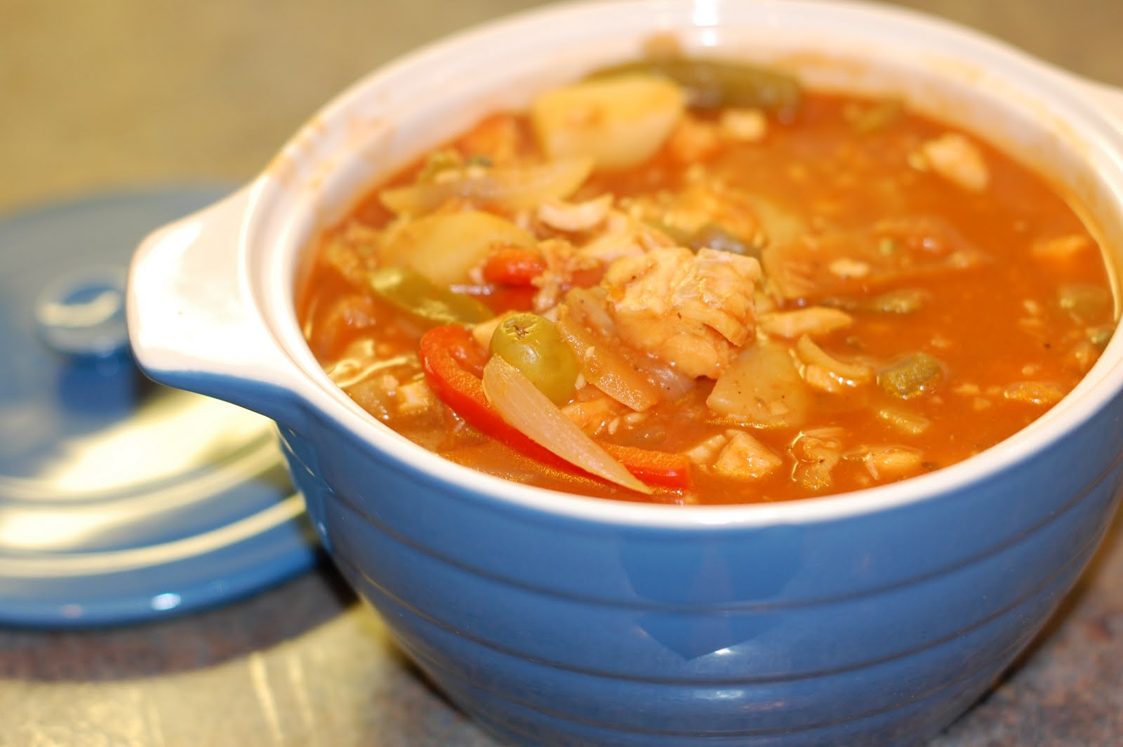 Dinner with the kinaymans bacalao guisado cod fish stew for Cod fish stew