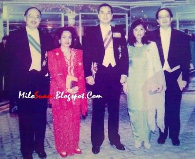 Gambar Najib dan Rosmah Mansor ketika muda