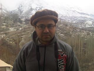 Ali Hameed in Hunza