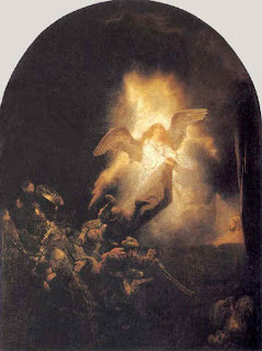 The Resurrection - Rembrandt
