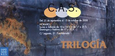 Trilogía - exposición en el Tomás y Valiente