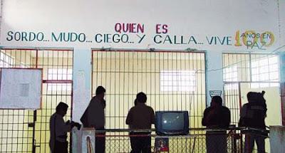 Cárcel de Palmasola, Bolivia.