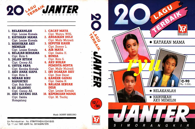 Janter simorangkir ( album 20 lagu terbaik )