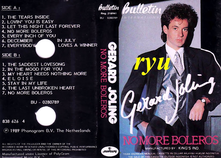 Gerard joling ( album no more boleros )