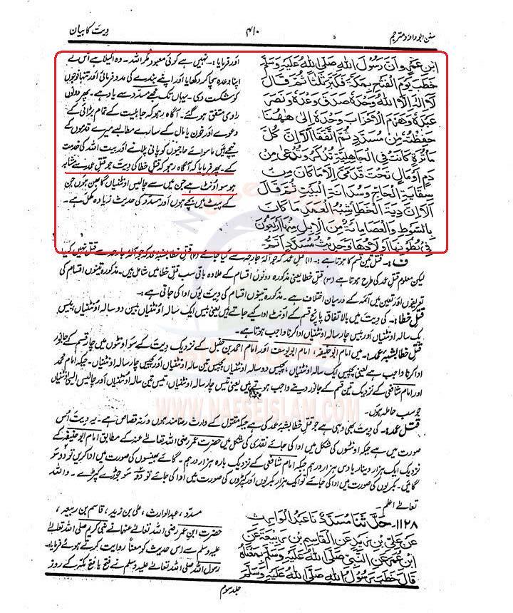 Aorat  ki  Diyat SADJ3_0410Nafseislam