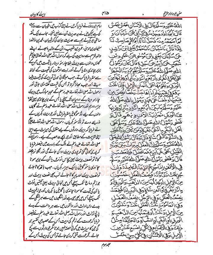 Aorat  ki  Diyat SADJ3_0415Nafseislam