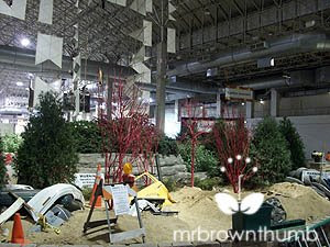 Paradise in a parking lot, Chicago Flower & Garden Show