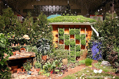 Green wall Chicago Flower & garden show