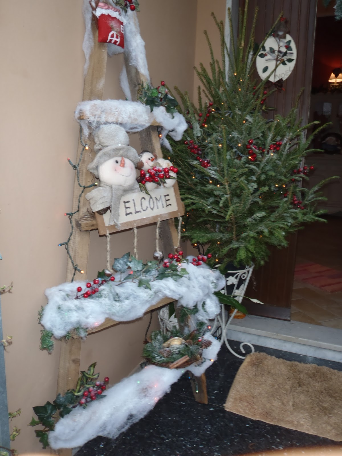 Il gufo e la luna shabby chic country style natale for Casa country chic