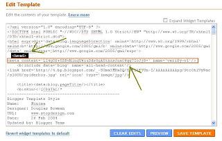 Adding Meta tag to HTML