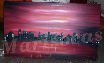 Quadros pintados a Óleo