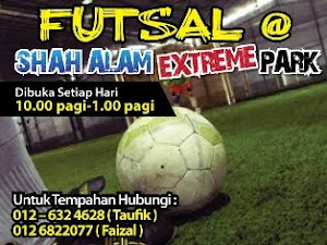 Futsal @ Shah Alam Extreme Park