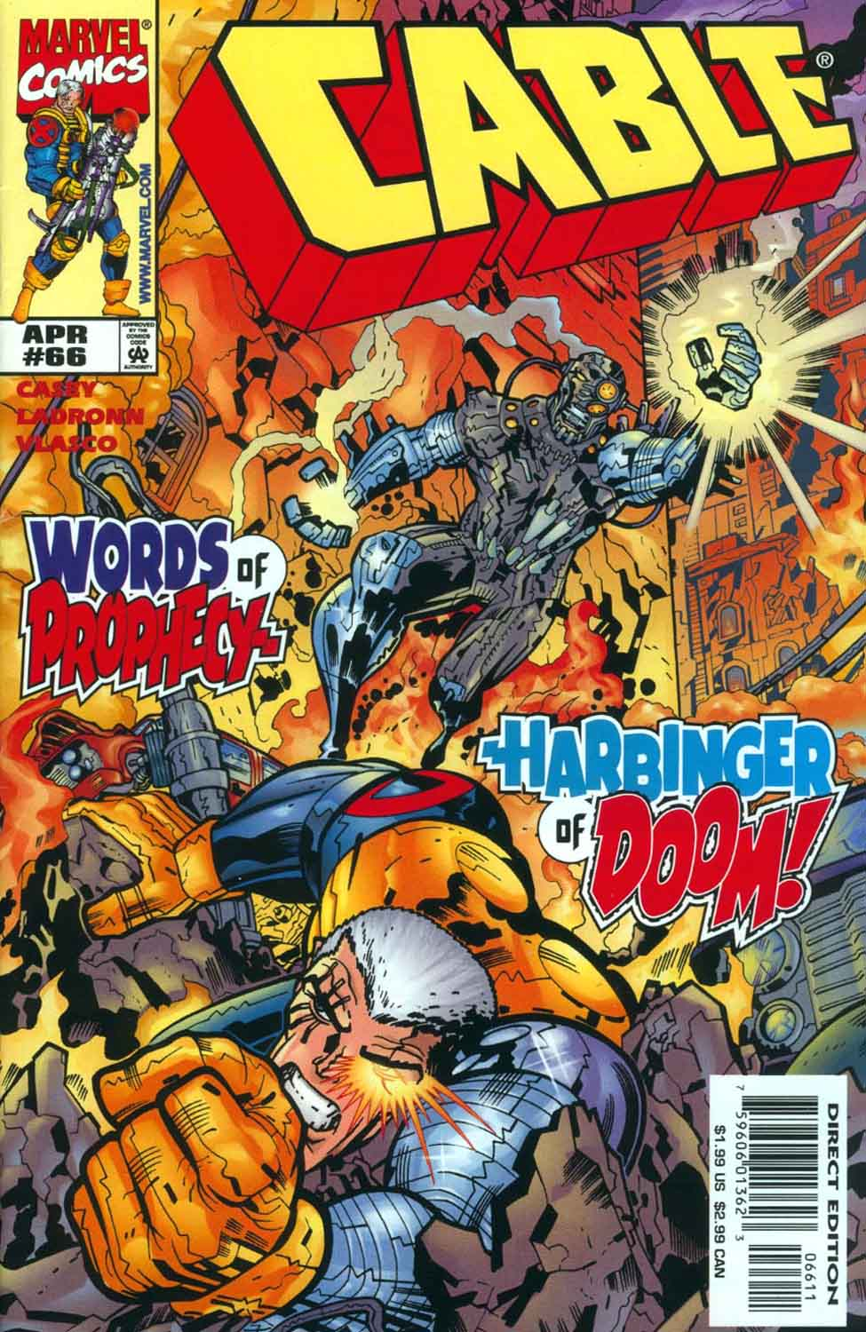Cable (1993) 66 Page 1