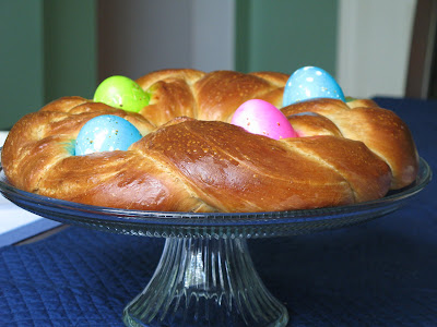 Rose's Recipes: Braided Easter Egg Bread