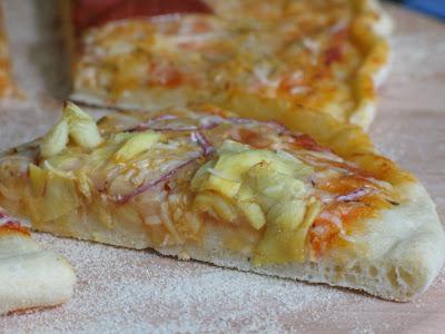 Rose's Recipes: Semolina Pizza Dough